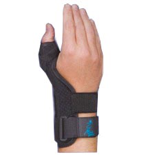 Suede Thumb Support by Med Spec